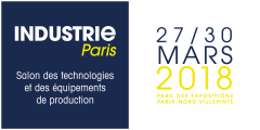 Du 27 au 30 Mars 2018 - SALON INDUSTRIE PARIS