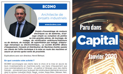 Le magazine CAPITAL fait un article sur BCDMO